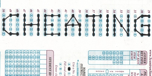 cheating-scantron